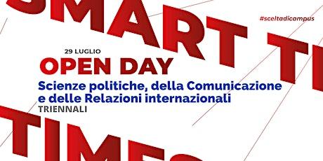 TRIENNALI, Scienze politiche,  Comunicazione e Relazioni internazionali biglietti