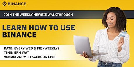 Newbie Walkthrough Africa Tickets