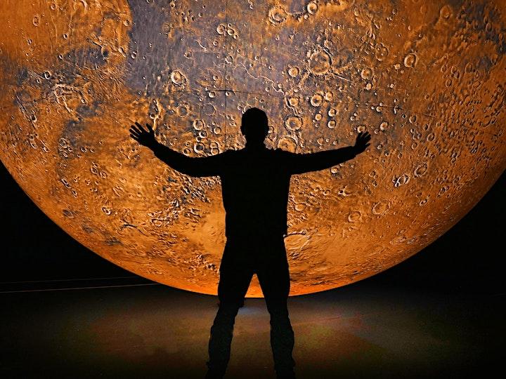 Luke Jerram's 'Mars' at the University of Bristol (Saturday and Sunday) image