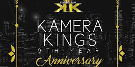 KAMERAKINGS 9TH YEAR ANNIVERSARY tickets