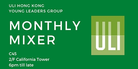 ULI Hong Kong Young Leaders Group: Monthly Mixer tickets