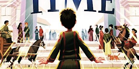 Book launch: Anna Ciddor. The Boy Who Stepped Through Time tickets