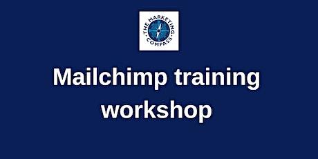 Mailchimp training workshop tickets