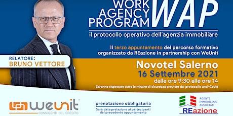 WORK AGENCY PROGRAM 3° step biglietti