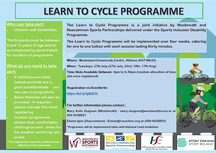 Learn to Cycle - for Children with Disability image