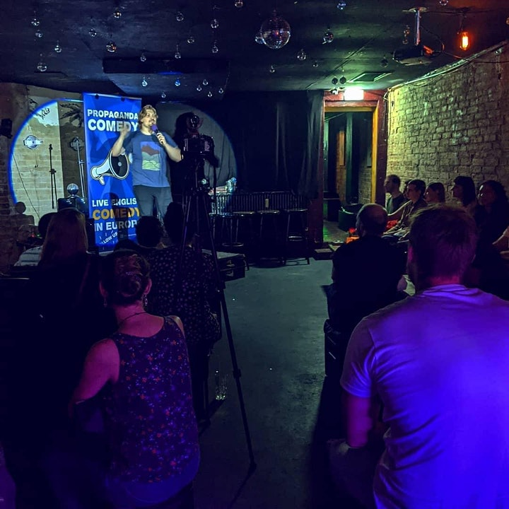New in Town - The Social English Comedy Show with FREE SHOTS 04.08. image