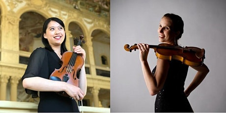 Free lunchtime concert: Doris Kuo and Boglárka György (violin duo) tickets