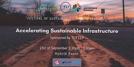 Accelerating Sustainable Infrastructure [Conference FoSB 2021-2022] tickets