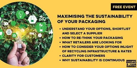 EARTH OVERSHOOT DAY: Maximising the Sustainability of Your Packaging tickets