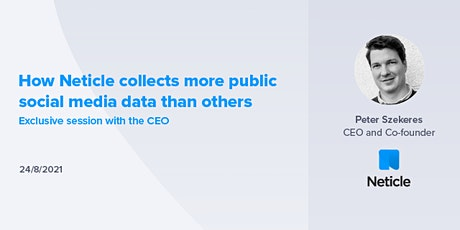 How Neticle collects more public social media data than others tickets