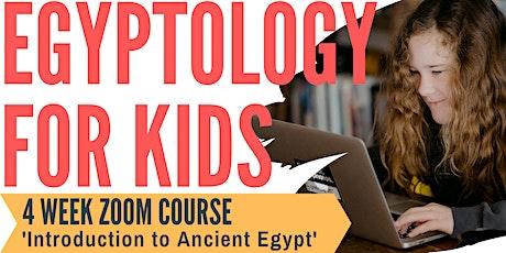 Egyptology for Kids tickets