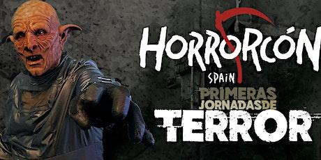 HorrorcónSpain I Jornadas de terror entradas