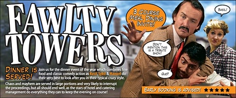 Fawlty Towers Dinner Show tickets
