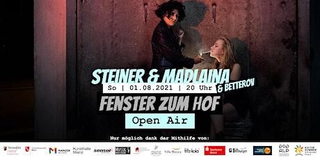Fenster zum Hof (Open Air) - Steiner & Madlaina Tickets