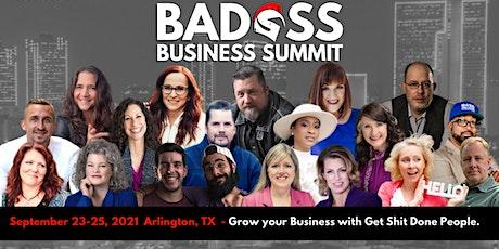 Badass Business Summit tickets
