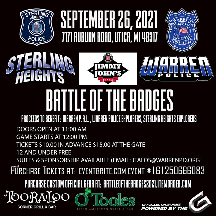 1st Annual - Battle Of The Badges - Charity Softball Game image