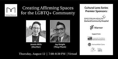 Creating Affirming Spaces for the LGBTQ+ Community tickets