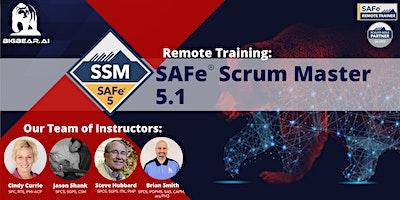 SAFe® Scrum Master 5.1 – Remote