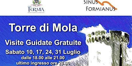 VISITE GUIDATE GRATUITE ALLA TORRE DI MOLA - FORMIA biglietti