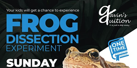 Frog Dissection Experiment tickets