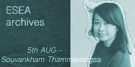 ESEA Archives Book Club #4 - Souvankham Thammavongsa tickets