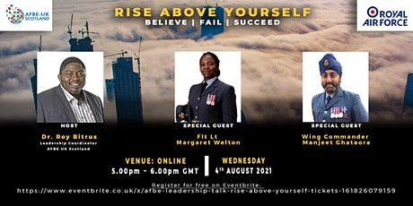 AFBE Leadership Talk: Rise Above Yourself tickets