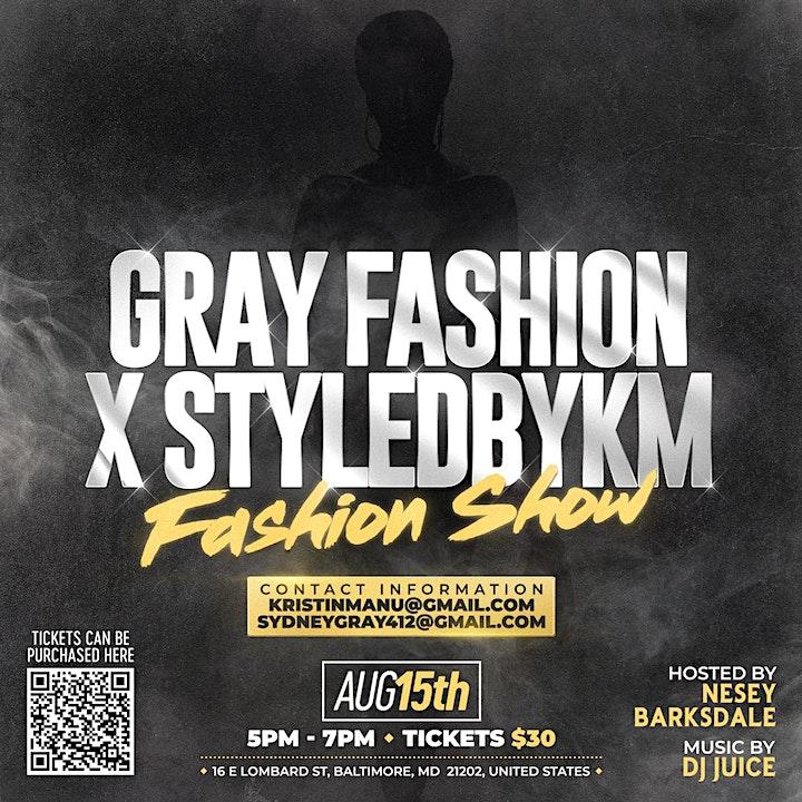 Gray Fashion x StyledbyKM Fashion Show image