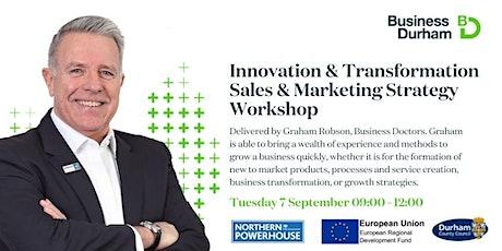 DFIB Innovation & Transformation Sales & Marketing Strategy Workshop tickets