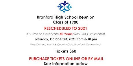 BHS CLASS OF 1980 ~ 40.1 REUNION tickets