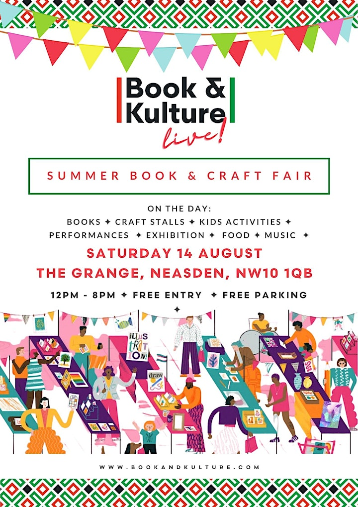 Book and Kulture Live! Summer Book and Craft Fair image