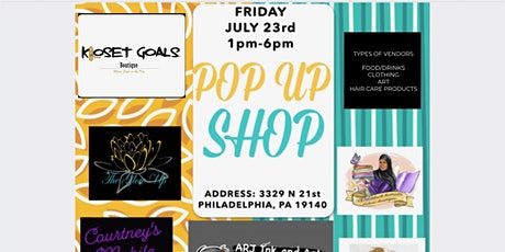 For us pop up shop Black owned small business  networking event tickets