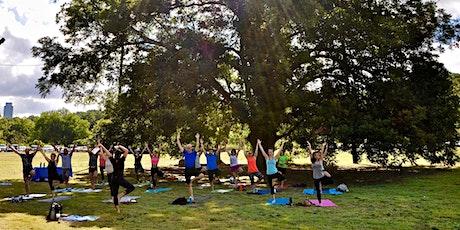 Sunset Yoga and Sound Bath at the Monkey Tree Mondays tickets