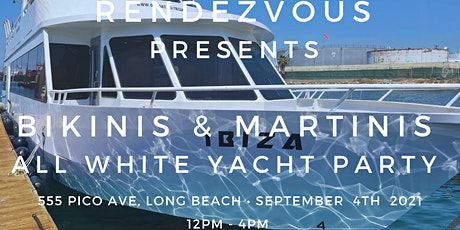 Bikinis and Martinis All White Yacht Party tickets