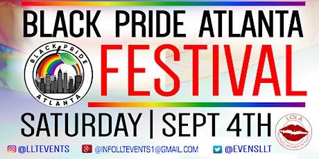 BLACK PRIDE ATLANTA OUTDOOR FESTIVAL tickets