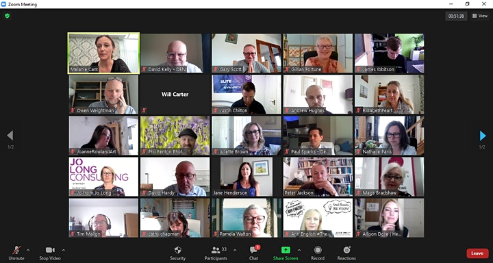 'DO BUSINESS' NETWORK ONLINE NETWORKING MEETING - TUESDAY, 21st SEPTEMBER image