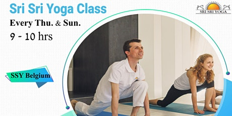 Sri Sri Yoga class (Every Thursday and Sunday 9:00 - 10:00 hrs) tickets