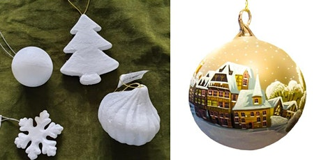 Crafts - Decopatch Christmas Tree Decorations tickets