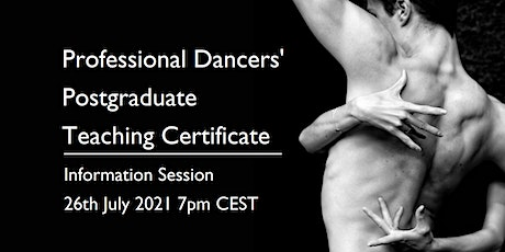 Professional Dancers' Postgraduate Teaching Certificate Information Session tickets