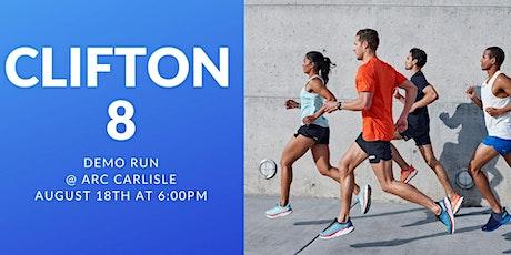 Hoka Clifton 8 Demo Run! tickets