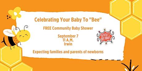 Free Community Baby Shower - Irwin tickets