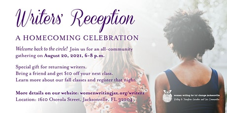Writers' Reception: A Homecoming Celebration tickets