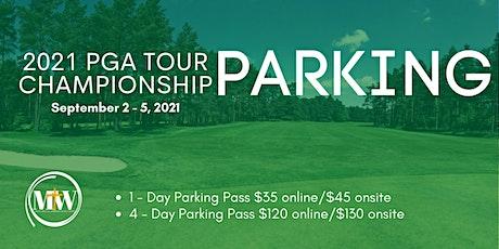 FedEx Cup PGA Tour 2021 Parking tickets