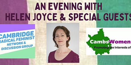 An Evening with Helen Joyce and Special Guests in Cambridge (not zoom) tickets