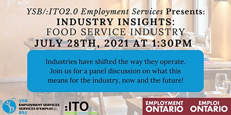 Industry Insights - Food Service Industry tickets