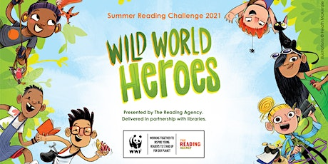Wild World Heroes - Buzzy Bees - Take Away Crafts from Blyth Library tickets