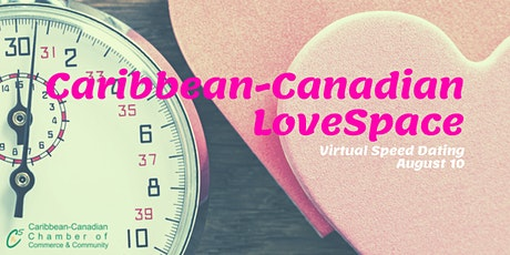 Caribbean-Canadian LoveSpace: Virtual Speed Dating billets