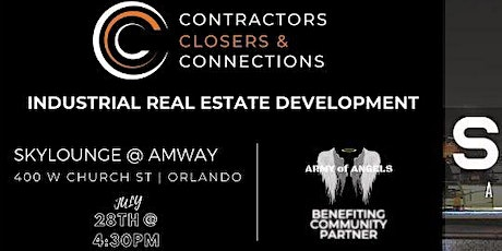 Contractors Closers and Connections- Orlando Industrial Real Estate Dev tickets