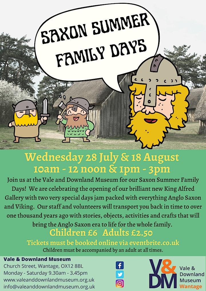 Saxon Summer Family Days image
