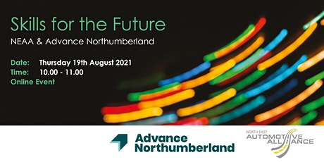 NEAA & Advance Northumberland: Skills for the Future tickets