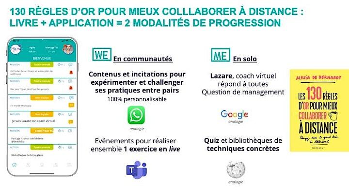 """Image pour Top10 des """"130 règles d'or pour collaborer à distance"""" (Marabout/Hachette)"""